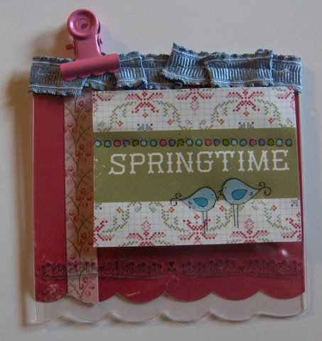 Springtime tag
