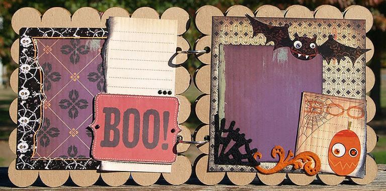 Halloween Mini page 3-4
