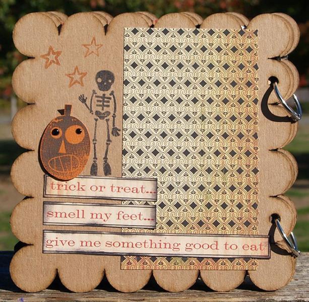 Halloween Mini Back Cover