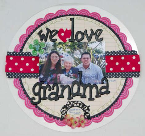 We-love-grandma