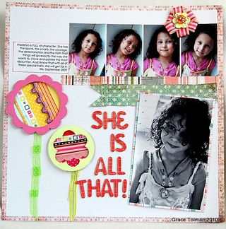 She is all that