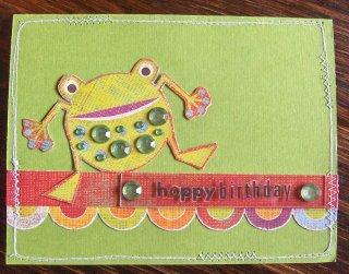 Hoppy Birthday Jewel toad