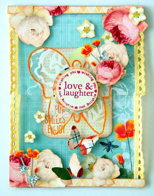 Love and Laughter Card(resize)