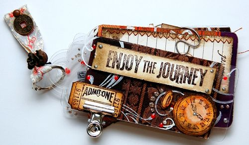 Enjoy The Journey mini journal(resize)