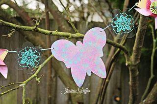 Banner Butterfly