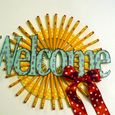 Welcome Wreath by Wendy