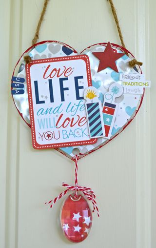 Patriotic Home Decor- connie crystal- Pinky Hobbs - clear scraps5
