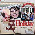 Holiday Layout by Jennifer