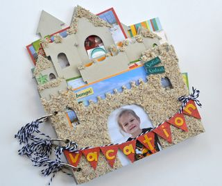 Creating-Made-Easy-Mudd-Puddles-Sandcastle-Mini-Album-Pinky-Hobbs1