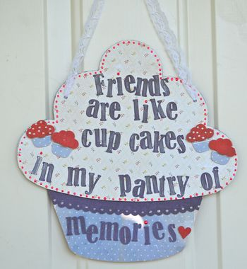 Cupcake Friendship Pantry Pinky Hobbs Creating Made Easy September Kit2