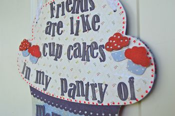Cupcake Friendship Pantry Pinky Hobbs Creating Made Easy September Kit3