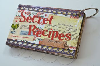 Secret Recipe Album Pinky Hobbs Creating Made Easy September Kit Farmhouse4