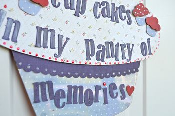 Cupcake Friendship Pantry Pinky Hobbs Creating Made Easy September Kit4