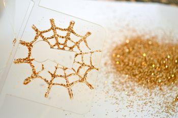 Spiderweb Card Tutorial Clear Scraps October Kit Pinky Hobbs04