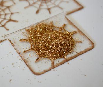 Spiderweb Card Tutorial Clear Scraps October Kit Pinky Hobbs10