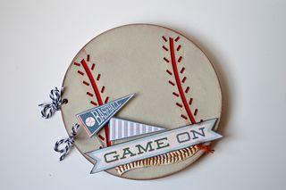 Clear Scrap Baseball Album Pinky Hobbs1