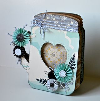Clear Scraps Jar Album Pinky Hobbs02