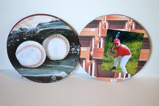 Clear Scrap Baseball Album Pinky Hobbs6