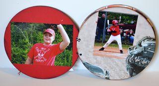 Clear Scrap Baseball Album Pinky Hobbs5