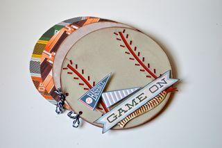 Clear Scrap Baseball Album Pinky Hobbs4