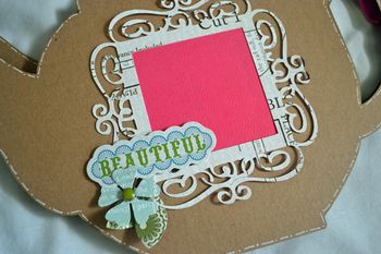 Tea pot mini chipboard mini7