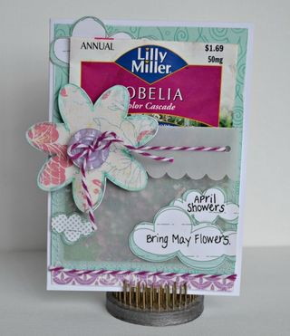 April Showers {card}
