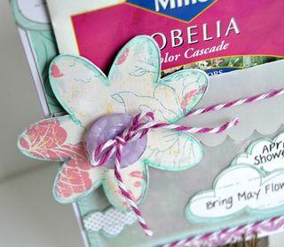 April Showers {card} flower