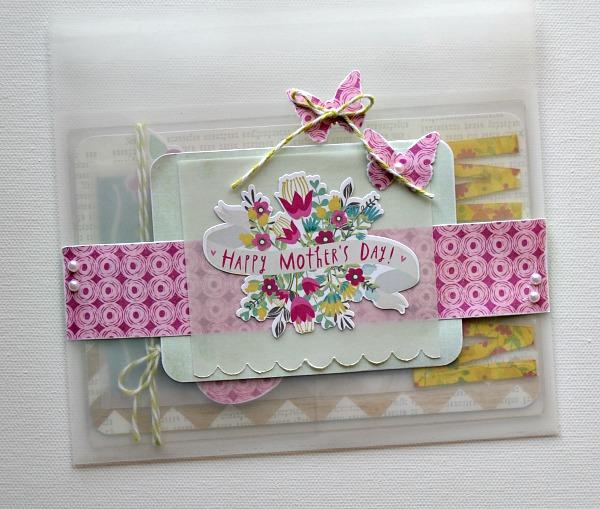 MOM card in envelope