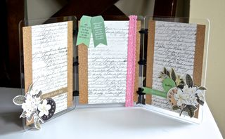 CutCardStock Tri-Fold Frame Clear Scraps Pinky Hobbs Vintage Glitter6