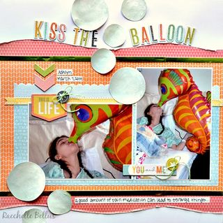 Kiss the balloon