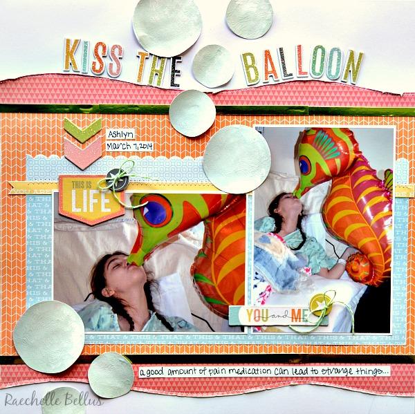 Kiss the balloon