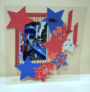 5-star spangled slide layout