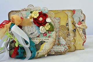 Mixed up_mini album_clear scraps_nancy keslin_cover