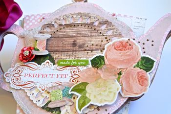 Teapot Album Clear Scraps Creating Made Easy Pinky Hobbs Xyron10