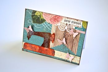Sewing Cards Love Creating Made Easy Clear Scraps Pinky Hobbs Xyron4