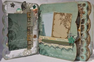 Mixers_mini album_clear scraps_prima_seashore_nancy keslin_