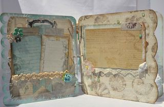 Mixers_mini album_clear scraps_seashore_prima_nancy keslin