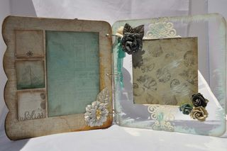 Mixers_mini album_prima_seashore_clear scraps_nancy keslin