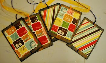 06-family recipe album chipboard pages first layer