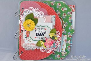 Lovely day_mini album_clear scraps_echo park_nancy keslin_cover
