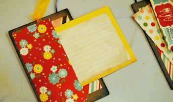 08-family recipe album with cards example