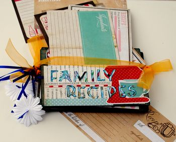 11-family recipe album lifestyle 2 loose cards