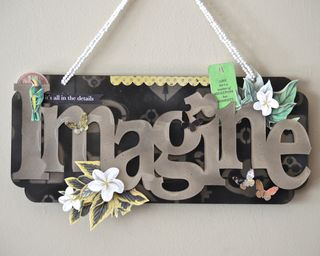 Clear scraps Imagine Wall Decor Hawaii Tropical Connie Crystal Pinky Hobbs5