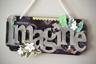 Clear scraps Imagine Wall Decor Hawaii Tropical Connie Crystal Pinky Hobbs1