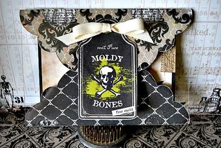 Moldy bones card
