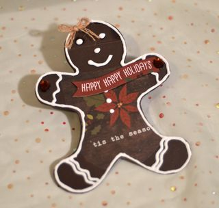 Gingerbread Card Creating Made Easy Clear Scraps Pinky Hobbs3