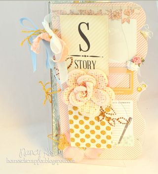 Story_mini album_nancy keslin_clear scraps_cover