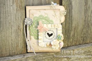 Circle of love_mini album_clear scraps_pion_nancy keslin_cover