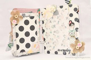 Mini album_clear scraps_nancy keslin_crate paper_open book_3