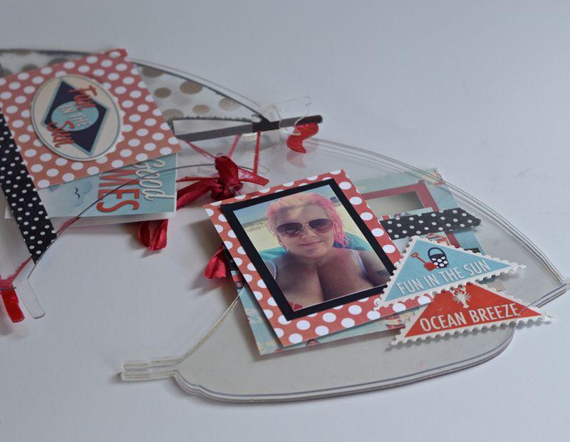 Clear Scraps Sailboat Mini Album Pinky Hobbs4